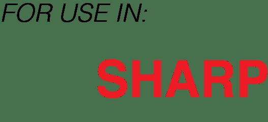INTEGRAL SHARP TONER